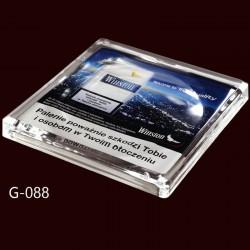 Стеклянная монетница Top Glass 3