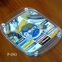 Монетницы пластиковые OPTIMA